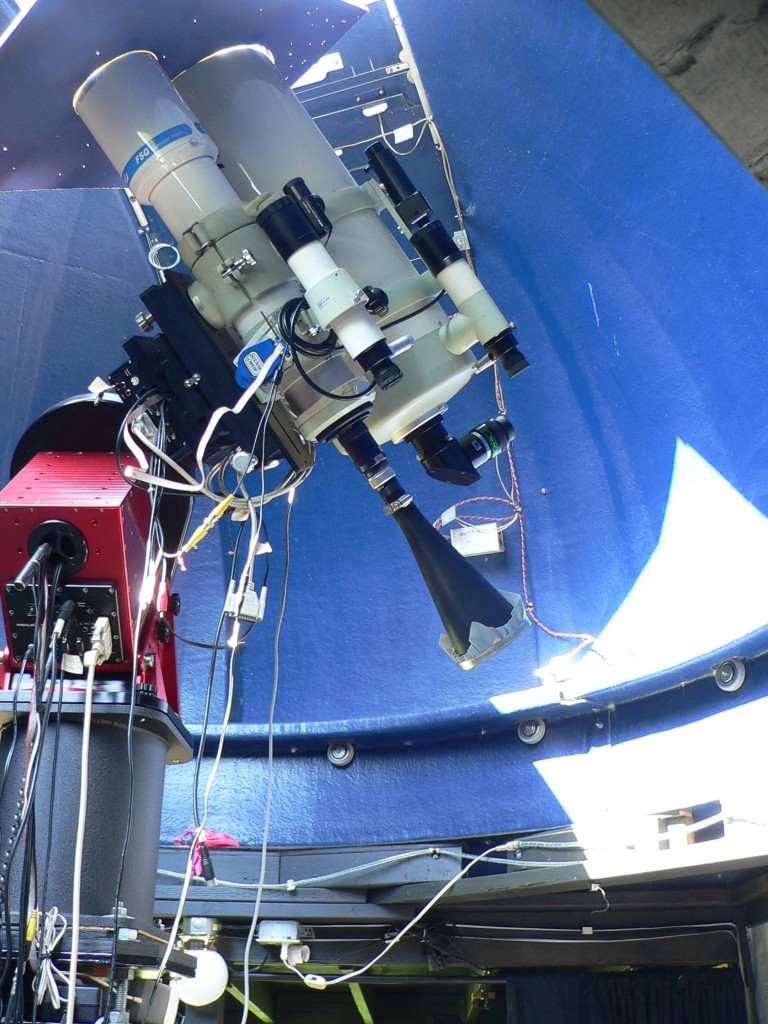 Telescope at the Tinyblue Observatory